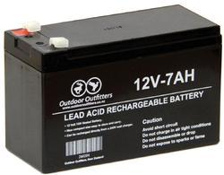 12 V/7 Amp Battery for Bike, Capacity: 7000 Ah