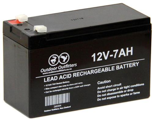 12 V  7 Amp Battery For Bike  Capacity  7000 Ah  Rs 900
