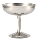 Silver Plain Ice Cream Cup