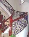 Designer Cast Iron Staircase