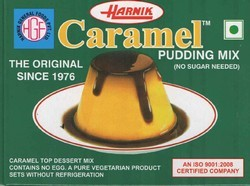 Caramel Custard Mix