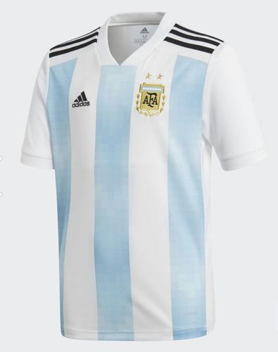 half off bbeab f5d6f Argentina Footbal World Cup 2018 Jersey With Adidas Logo And Tags