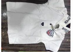 White Color Kids T-Shirt