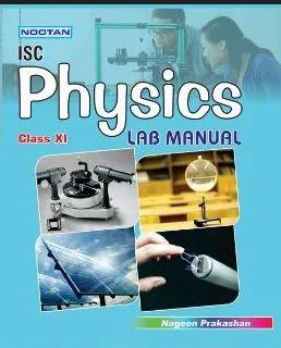 Isc Physics Lab Manual Xi Book