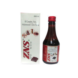 B-Complex & Iron And Multimineral C Zinc Syrup