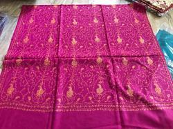 Pink Pashmina Embroidered Shawl