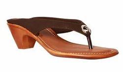 Bata Brown Ladies Sandal