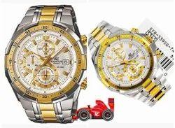 Tissot Men Metallic Wrist Watch for Personal Use
