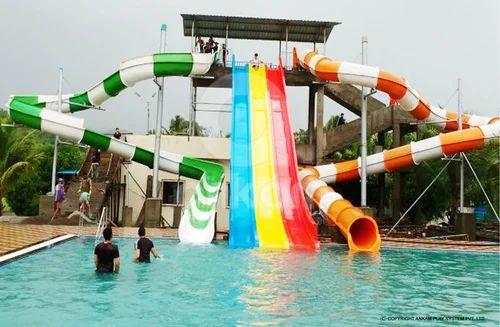 Water Park Slides - 5 Platform Water Park Slide Manufacturer ...