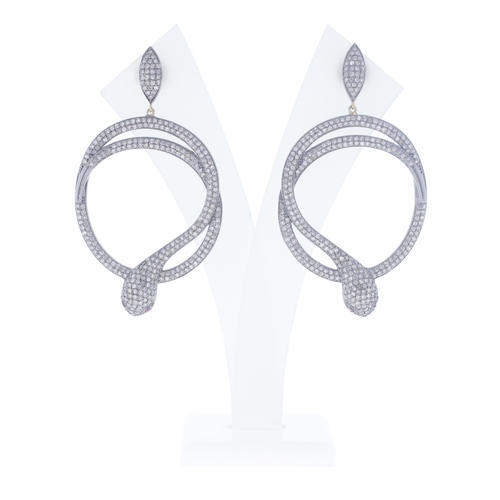 3c19377e3 Chic Designs Designer Dangle Snake Earrings, Rs 32836 /piece | ID ...