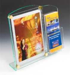 Photo Frame Cum Brochure Stand