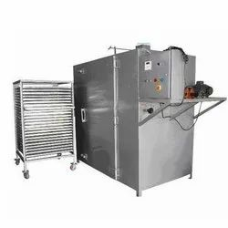 Semi-Automatic Electric Air Tray Dryer