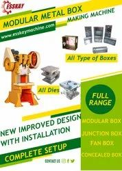 Modular Box Fan Box Junction Box Making Machine
