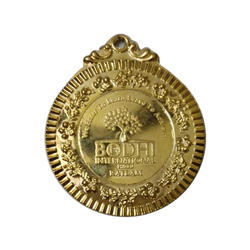 6 mm Gold Plated Medal