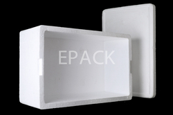 White B4 Type EPS Boxes