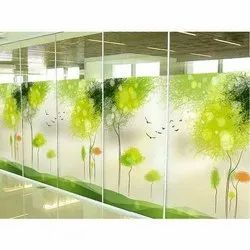 Scenery Printed Glass
