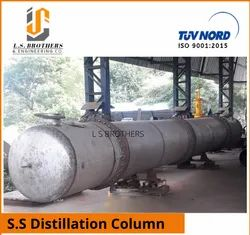 S.S Distillation Column