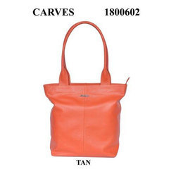 Fancy Leather Ladies Handbag