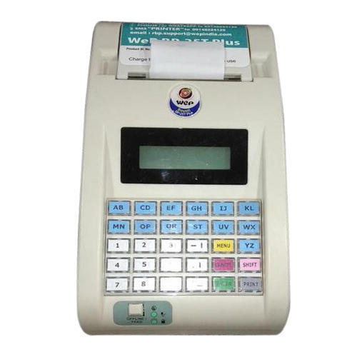WEP Billing Machine, Warranty: 6 month