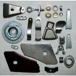 Silver Brass Sheet Metal Pressed Components, for Industrial, Packaging Type: Carton