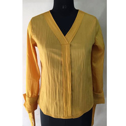 Ladies Yellow Shirt