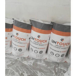 Softtouch White Water Based Wall Putty, Packing Size: 40 kg