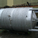 Pipe Jacketed Tank