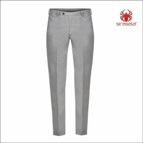 Cotton Plain Ladies Trousers