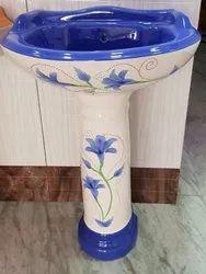 Multicolor Ceramic Designer Wash Basin, For Home