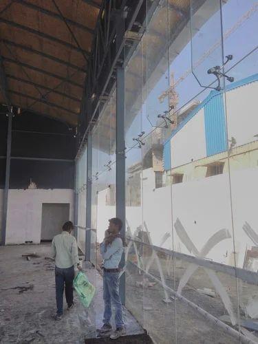Spider Glazing System For Hotels Glass Spider Glazing