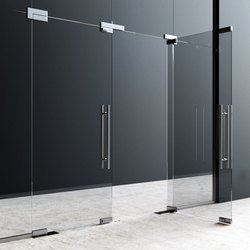 Hinged Laminated Safety Glass Door