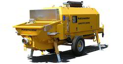 Rent Hire Lease Stationary Concrete Pumps