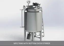 Tank Bottom Entry Stirrer