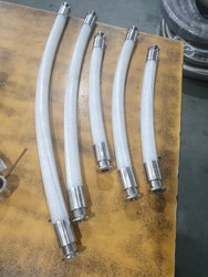 Silicone Braided Hose, For Fire Fighting