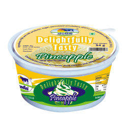 Pineapple Ice Cream, Packaging Type: Cup