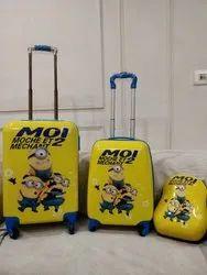 黄聚碳酸酯儿童行李袋