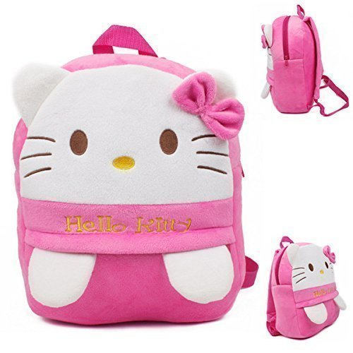 new arrivals authorized site shop for genuine Hello Kitty Soft Plush School Bag For Kids