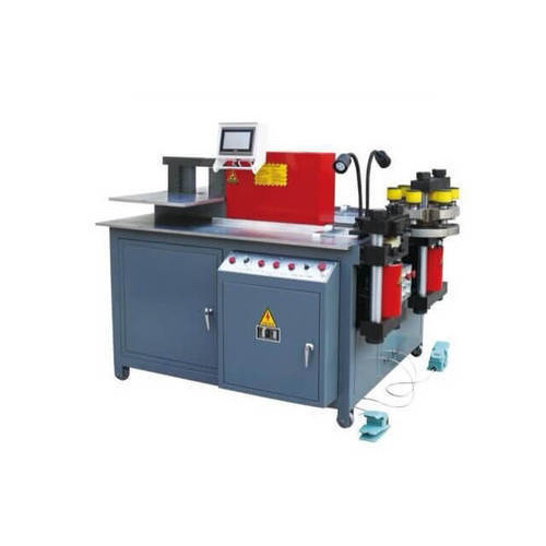 Hydraulic Bus Bar Bending,Cutting & Punching Machine