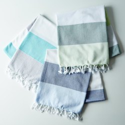 Washed Cotton Bamboo Towel