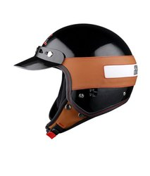 Motorcycle Helmets - Jet Leatherette