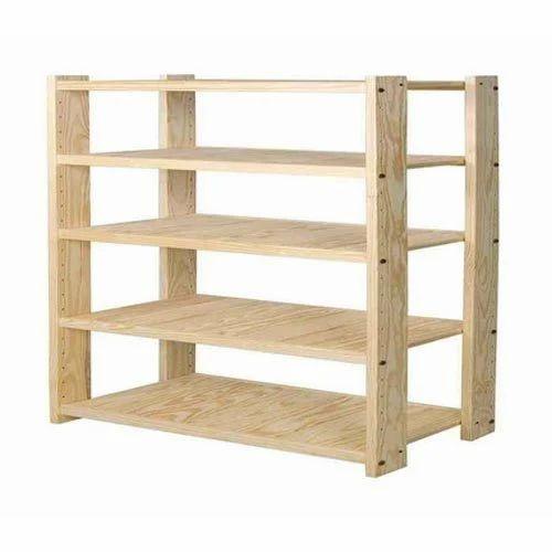 Charmant Wooden Storage Rack