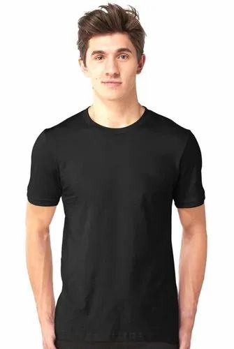 Tshirt Cotton T Shirt Dropshipping, Age Group: Adult | ID