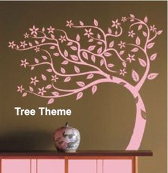 Big Stencils Tree Theme