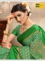 Earth Green Saree Green Women Saree