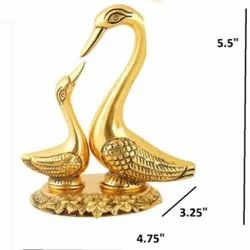 Gold Plated Swans Gift
