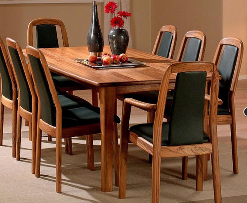 8 Seater Dining Table Made Of Indian Teak Wood TDT 2601