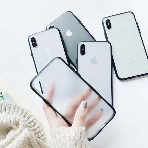 timeless design 1e7a8 16e62 Clear Matte Pc With Black Tpu Case Phone Cover For Redmi, All Model:  Mia2,y1,redmi4x,mi Note4
