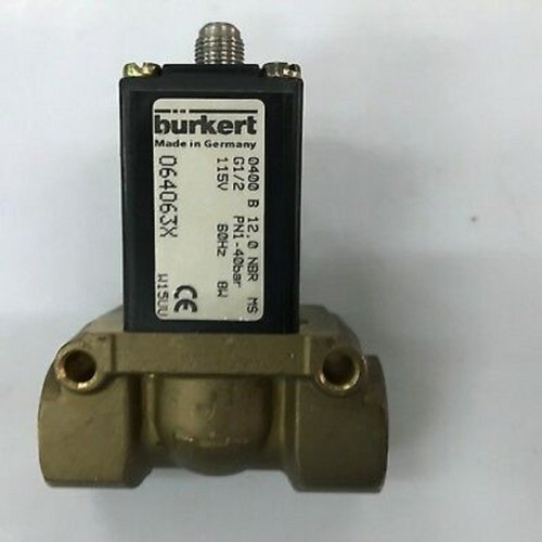 Burkert 064063x 0400 2-Way No Brass Solenoid Valve