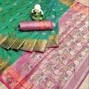 Soft Pure Banarsi Cotton Silk Saree
