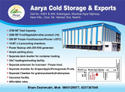 Fruits Dry Fruit Cold Storage Service, Automation Grade: Fully Automatic